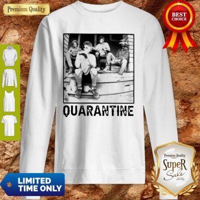 The Golden Girl Mashup Minor Threat Quarantine Sweatshirt