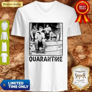 The Golden Girl Mashup Minor Threat Quarantine V-neck