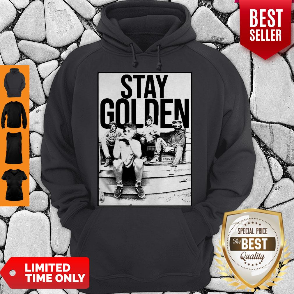 The Golden Girl Mashup Minor Threat Stay Golden Hoodie