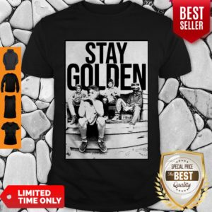 The Golden Girl Mashup Minor Threat Stay Golden Shirt