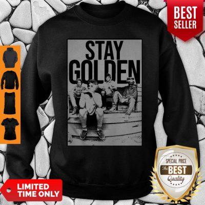 The Golden Girl Mashup Minor Threat Stay Golden Sweatshirt