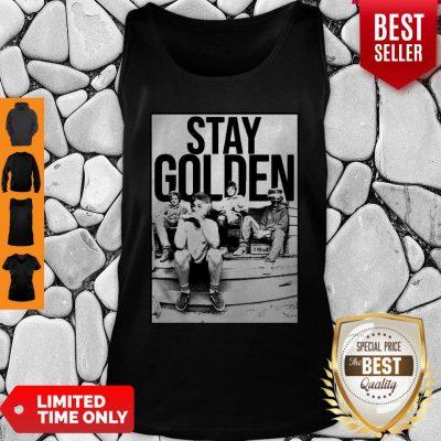 The Golden Girl Mashup Minor Threat Stay Golden Tank Top