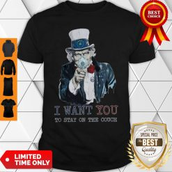 Uncle Sam I Want You To Stay On The Couch Shirt