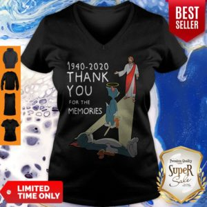 Top Tom And Jerry 1940 2020 Thank You For The Memories V-neck