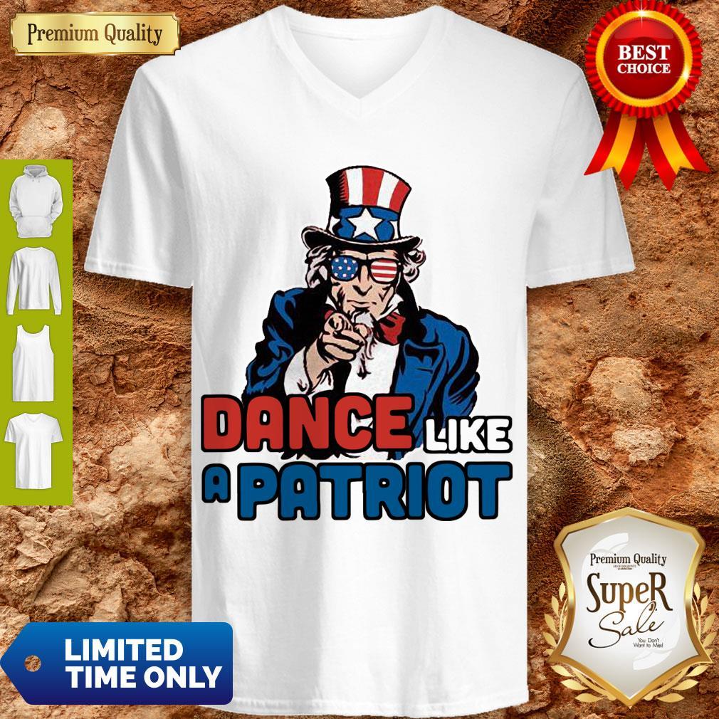 Official Dance Like A Patriot V-neck