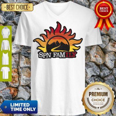 Official Supernatural SPN Family V-neck