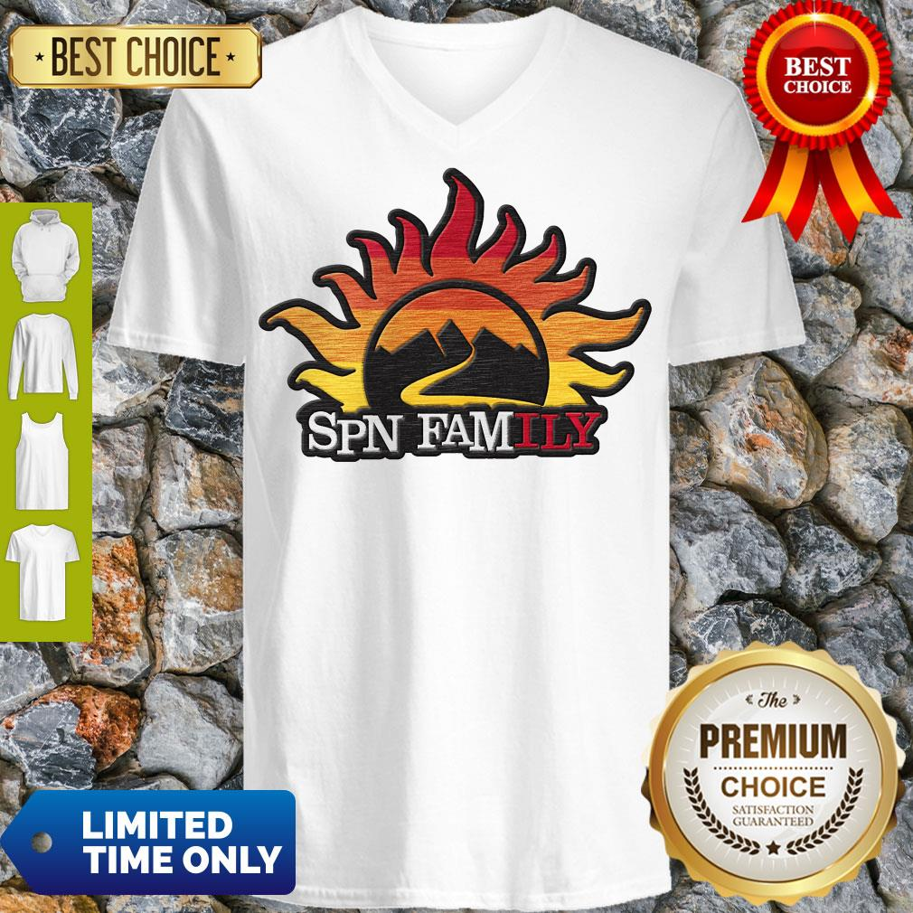 Official Supernatural SPN Family V-neck