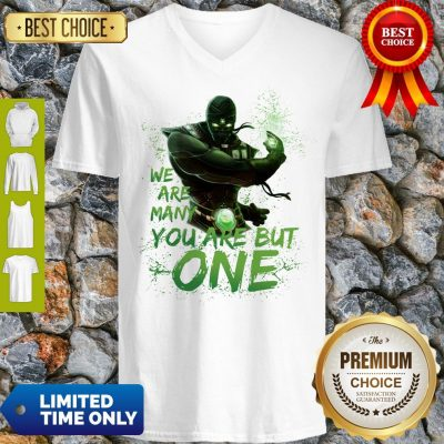 Pro We Are Many You Are But One V-neck