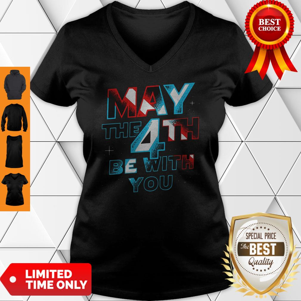 Official Star Wars May The 4th Be With You V-neck