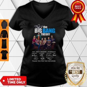 Pretty The Big Bang Theory Thank You For The Memories V-neck