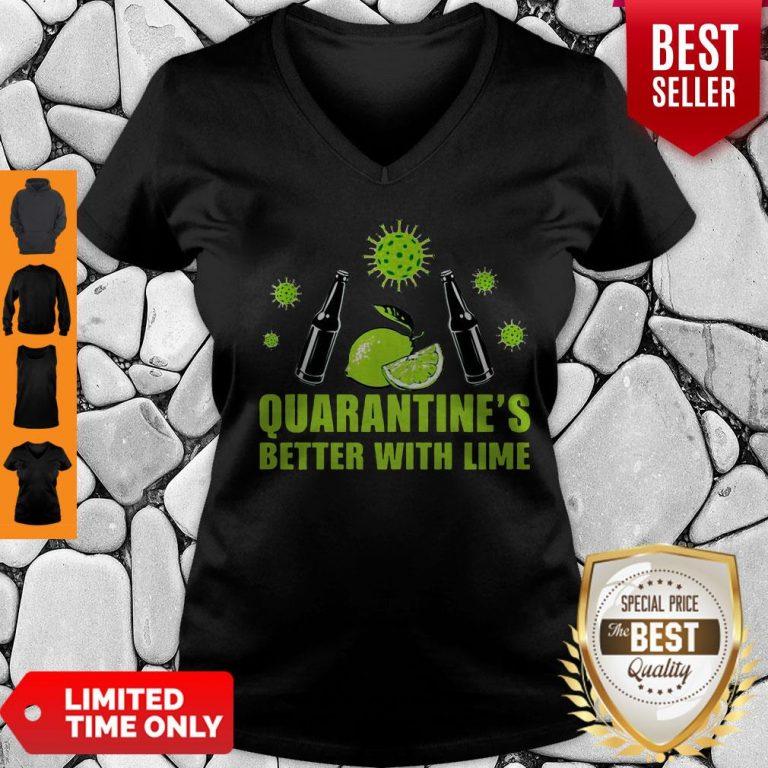Official Lemonade Quarantine Is Better With Lime V-neck