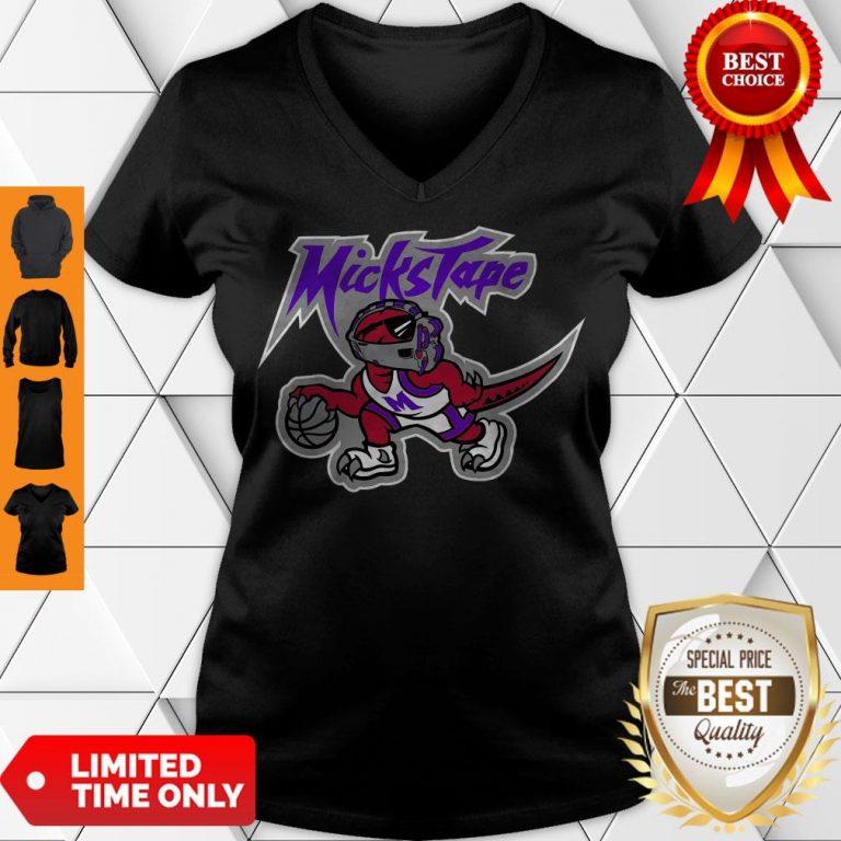 Nice Mickstape Raptor Official V-neck