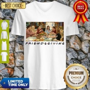 Pretty Friends Giving Friends TV Show Thanks Giving 2020 V-neck