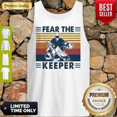 Hockey Fear The Keeper Vintage Tank Top