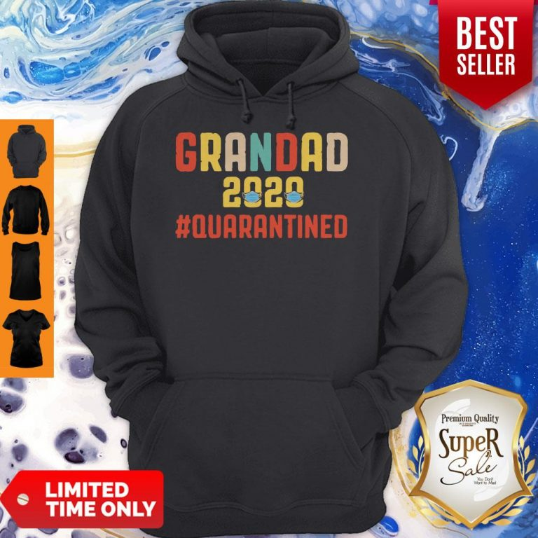 Awesome Grandad 2020 Quarantined Father's Day Hoodie