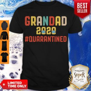 Awesome Grandad 2020 Quarantined Father's Day Shirt