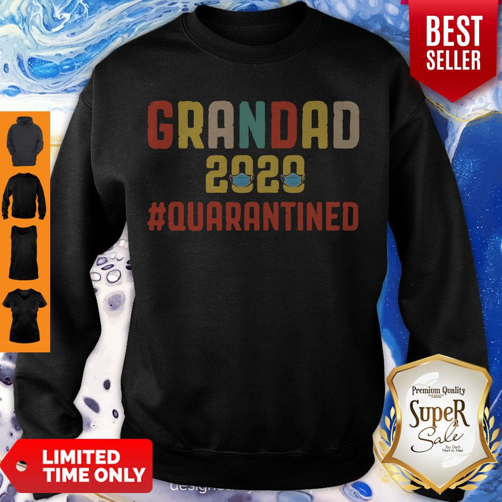 Awesome Grandad 2020 Quarantined Father's Day Sweatshirt