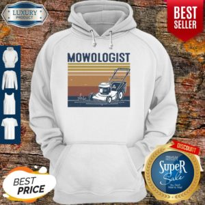 Awesome Mowologist Vintage Hoodie