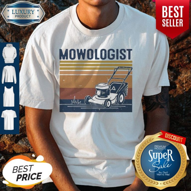 Awesome Mowologist Vintage Shirt