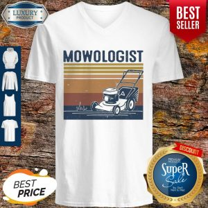 Awesome Mowologist Vintage V-neck
