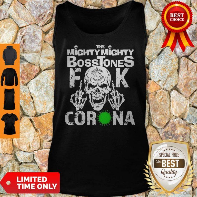 Awesome Skull The Mighty Mighty Bosstones Fuck Coronavirus Tank Top