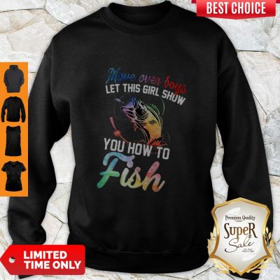 Awesome You How To Fish Sweatshirt