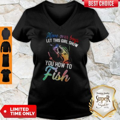 Awesome You How To Fish V-neck