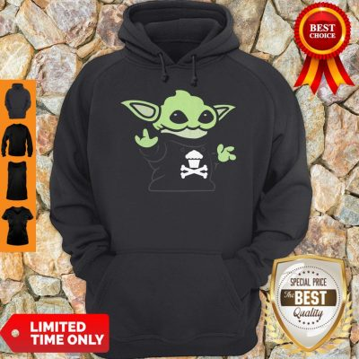 Baby Yoda Yodel Johnny Cupcakes T-Hoodie