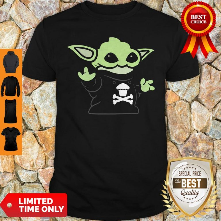 Baby Yoda Yodel Johnny Cupcakes T-Shirt