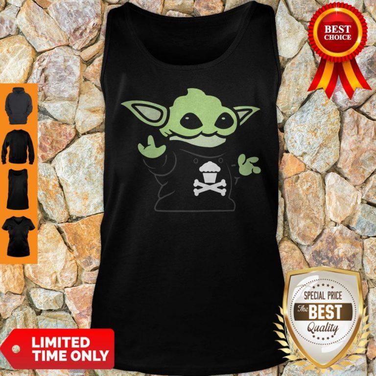 Baby Yoda Yodel Johnny Cupcakes T-Tank Top