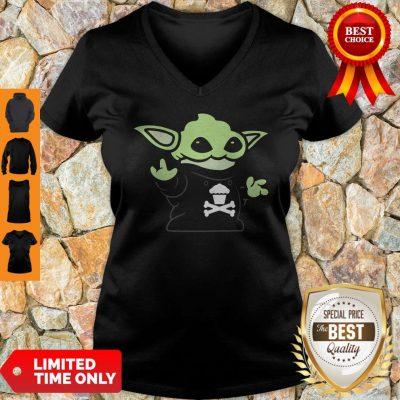 Baby Yoda Yodel Johnny Cupcakes T-V-neck