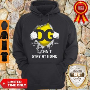 DG Logo Covid 19 2020 I Can'T Stay At Home T-Hoodie