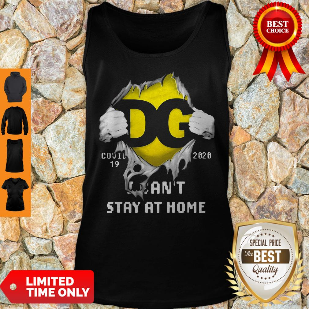 DG Logo Covid 19 2020 I Can'T Stay At Home T-Tank Top