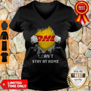 DHL Covid 19 2020 I Can't Stay At Home V-neck