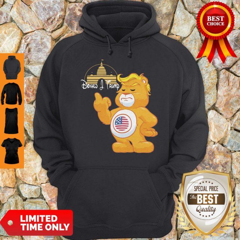 Donald J. Trump Teddy Bear T-Hoodie
