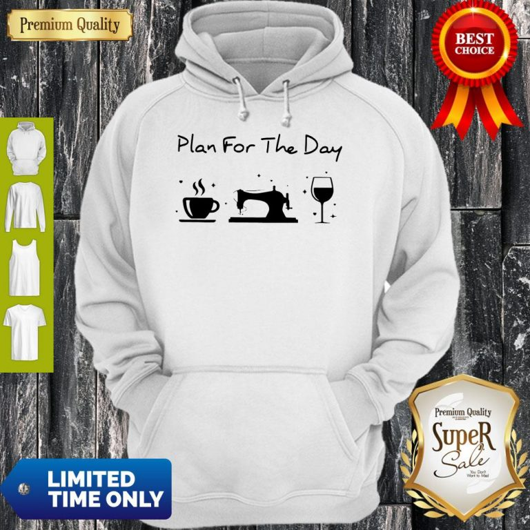 Funny Plan For The Day Hoodie