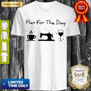 Funny Plan For The Day V-neck