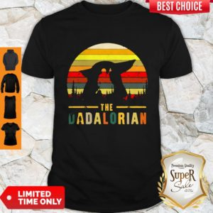 Funny The Dadalorian Definition Father's Day Shirt
