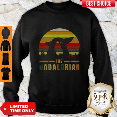Funny The Dadalorian Definition Father's Day Sweatshirt