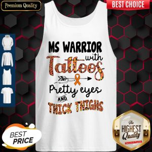 Nice Ms Warrior With Tattoos Pretty Eyes And Thick Thighs Tank Top