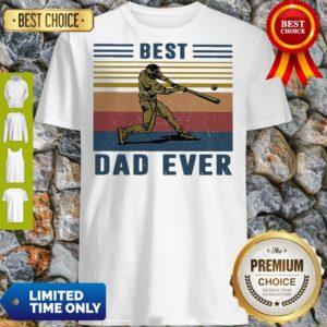 Official Baseball Best Dad Ever Vintage Shirt
