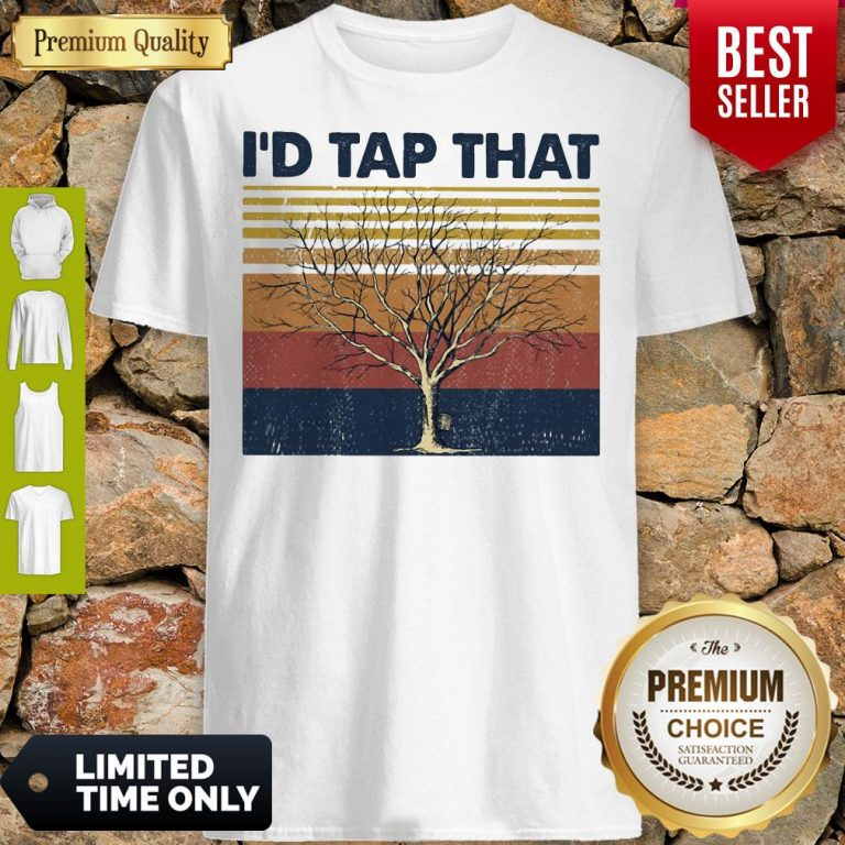 Official Id Tap That Tree Vintage Shirt