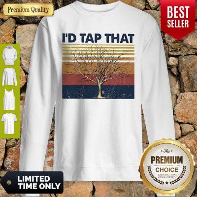 Official Id Tap That Tree Vintage Sweatshirt
