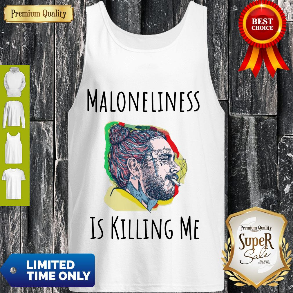 Official Maloneliness Is Killing Me Tank Top