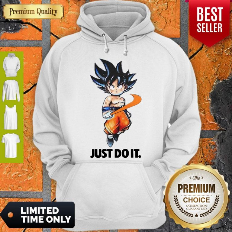 Official Nike Songoku Just Do It Dragon Ball Hoodie