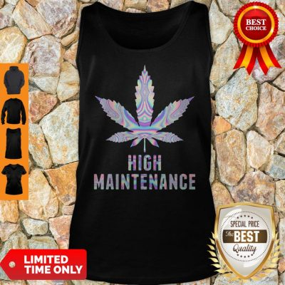 Official Weed High Maintenance Tank Top