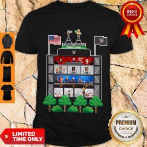 Original Money In The Bank 2020 8-Bit Tower Shirt