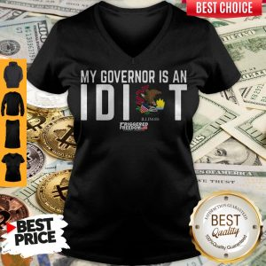 Premium My Governor Is An Idiot Illinois V-neck