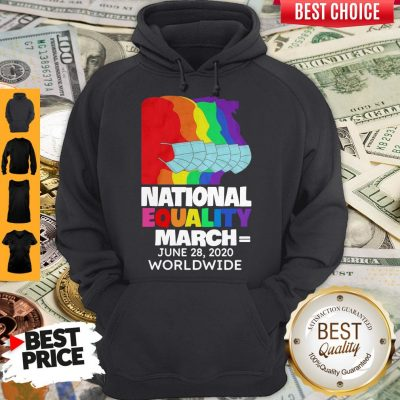 Top National Equality March June 28 2020 Worldwide Hoodie