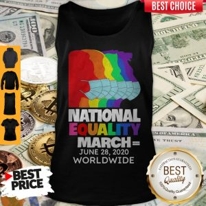 Top National Equality March June 28 2020 Worldwide Tank Top